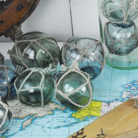 Vintage 1950's Japanese glass floats