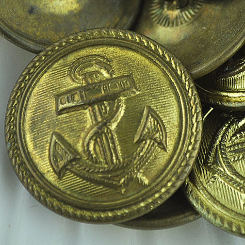 Naval Officers buttons