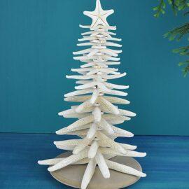 Finger Starfish Christmas Tree