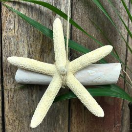 Star and Drifwood Christmas Tree hanger